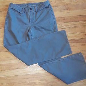 Liz Clairborne NWOT Slim Bootcut Jean's Grey Sz 12